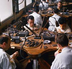 Chaumet Paris jewelry workshop